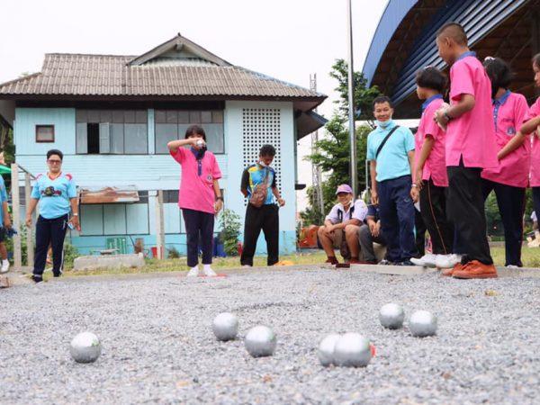 การแข่งขันกีฬาเปตอง ทีมผสม โครงการการแข่งขันกีฬานักเรียนโรงเรียนในสังกัดเทศบาลตำบลปลายบาง ประจำปี 2563