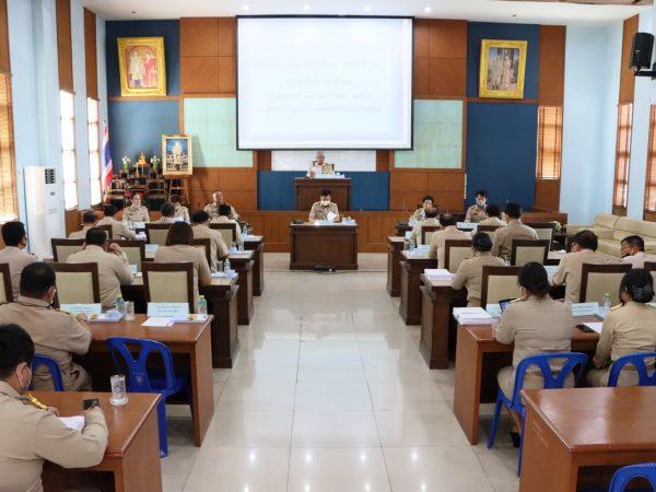 ประชุมสภาเทศบาลตำบลปลายบาง สมัยสามัญ สมัยที่ 3 ครั้งที่ 2 ประจำปี 2563