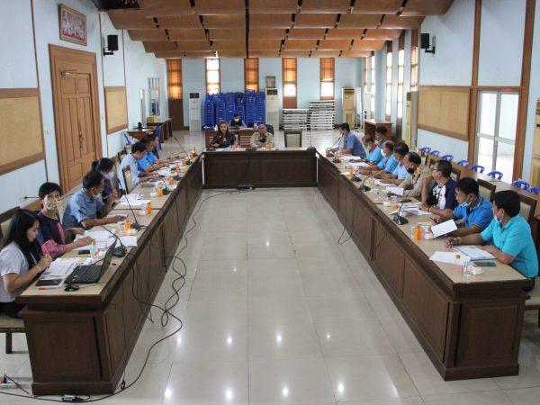 ประชุมการขับเคลื่อนงานโครงการ ตำบลต้นแบบห่วงใยไม่ทอดทิ้งกัน ประจำปี 2563